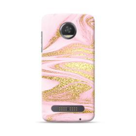 Pink & Gold Moto Z2 Play Case