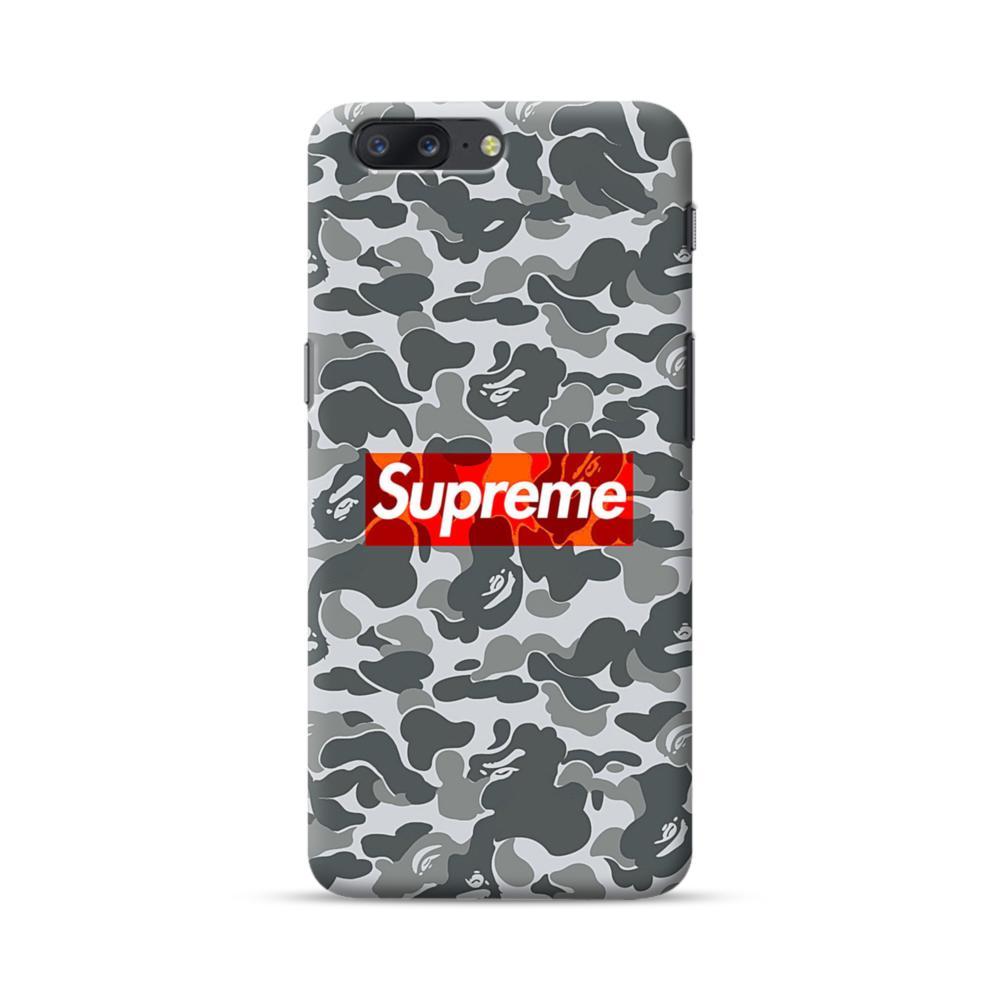 reputable site a31e7 2a155 Supreme Camo OnePlus 5 Case | CaseFormula