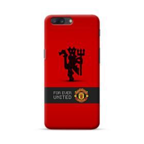 Manchester United Team Logo Red Devil Banner OnePlus 5 Case