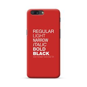 Helvetica Font Family OnePlus 5 Case