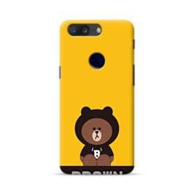 Line Friends Brown Give You Luck OnePlus 5T Case