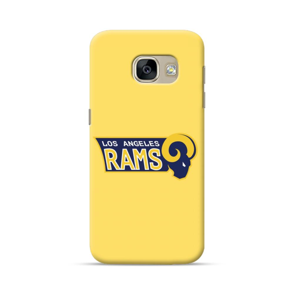 Los Angeles Rams Yellow Samsung Galaxy A5 2017 Case