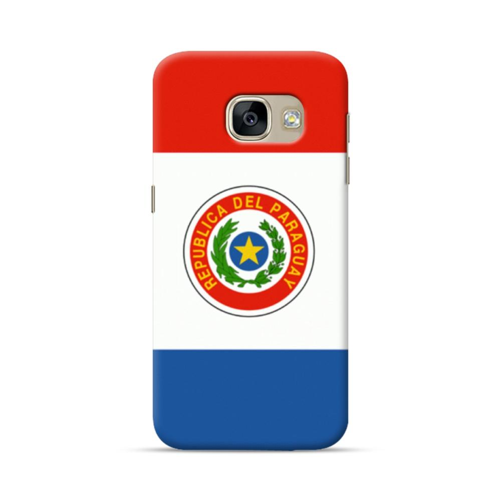 Flag of Paraguay Samsung Galaxy A5 2017 Case