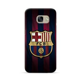 FC Barcelona Logo Fabric Samsung Galaxy A5 2017 Case
