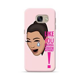 Crying Kim emoji kimoji meme  Samsung Galaxy A5 2017 Case