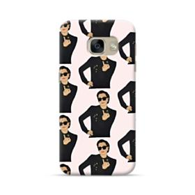 Kris Jenner middle finger meme Samsung Galaxy A5 2017 Case