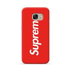 Red Supreme Samsung Galaxy A5 2017 Case