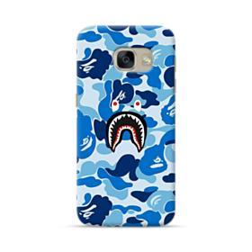 Bape Shark Blue Camo Samsung Galaxy A5 2017 Case
