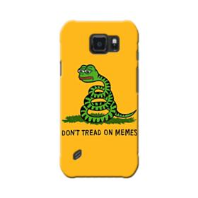 Pepe the frog don't tread on memes Samsung Galaxy S6 Active Case