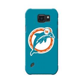 Miami Dolphins Team Logo Samsung Galaxy S6 Active Case