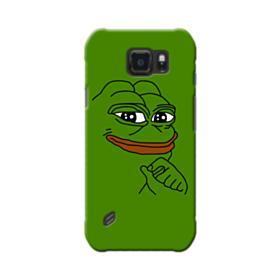 Smug Pepe Frog Funny Meme Samsung Galaxy S6 Active Case