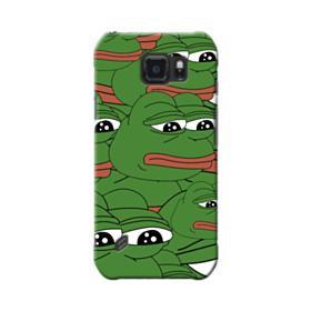 Sad Pepe frog seamless Samsung Galaxy S6 Active Case