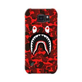 Bape Logo Red Camo Samsung Galaxy S6 Active Case