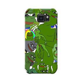 Rare pepe the frog seamless Samsung Galaxy S6 Active Case