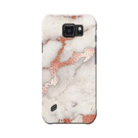 Rosegold Marble Samsung Galaxy S6 Active Case