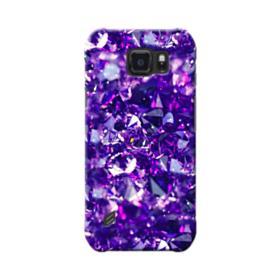 Purple Diamond Glitter Samsung Galaxy S6 Active Case