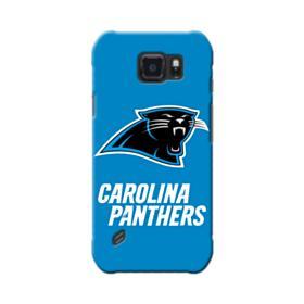 Carolina Panthers Team Logo Blue Samsung Galaxy S6 Active Case