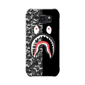 Bape Shark Camo & Black Samsung Galaxy S6 Active Case