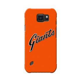 Giants Logo Orange Samsung Galaxy S6 Active Case