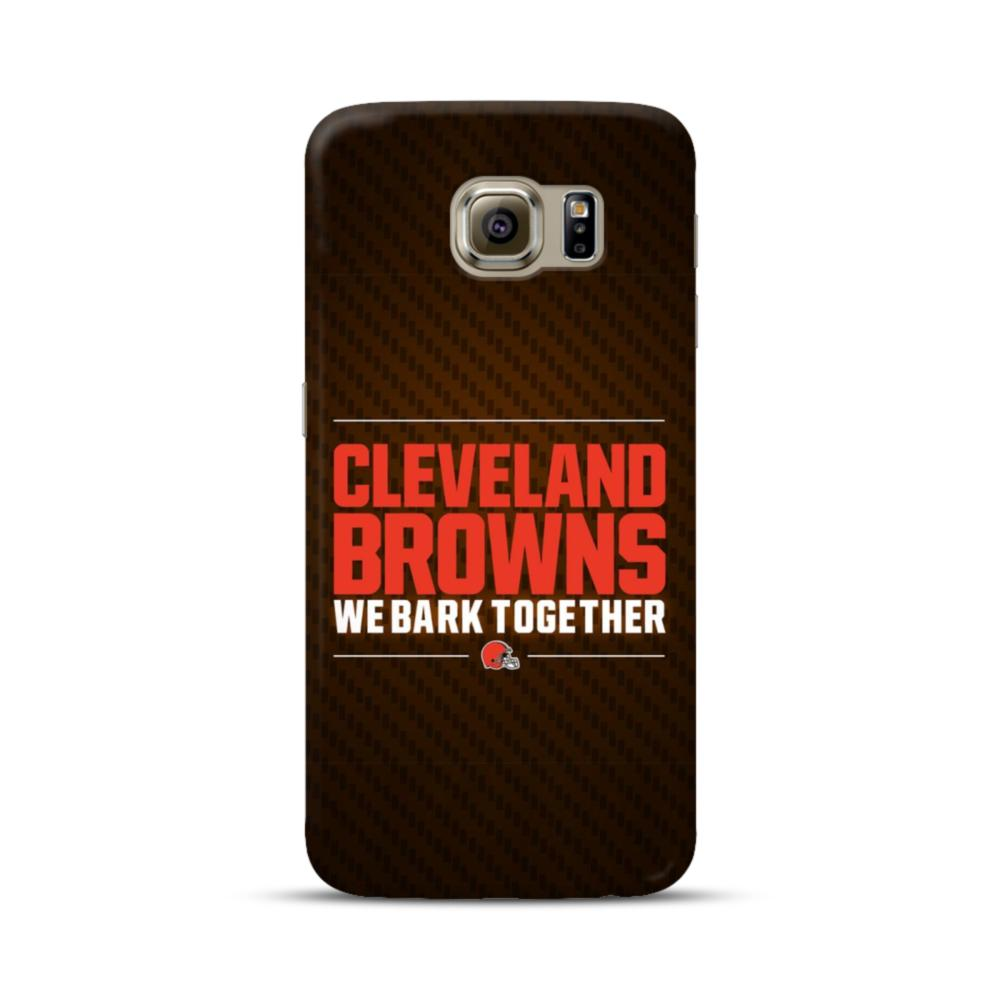 Cleveland Browns We Bark Together Samsung Galaxy S6 Case