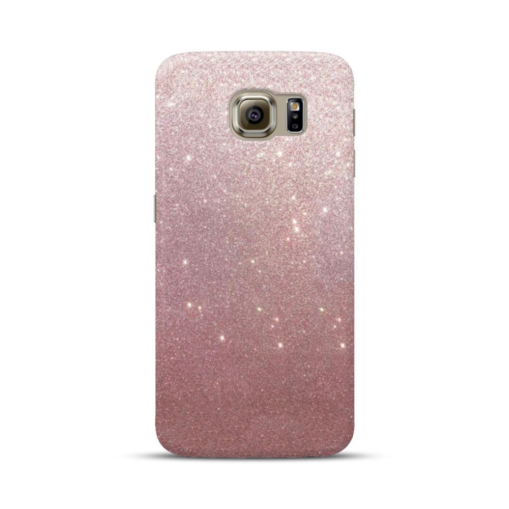 Rose Gold Glitter Samsung Galaxy S6 Case