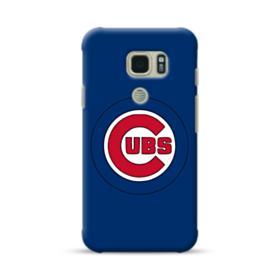 Chicago Cubs Logo Blue Samsung Galaxy S7 Active Case