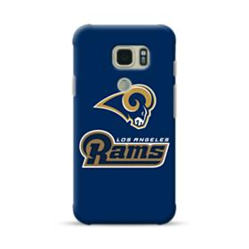 Los Angeles Rams Team Logo Mascot Name Samsung Galaxy S7 Active Case