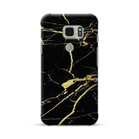 Gold Black Marble Samsung Galaxy S7 Active Case