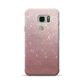 Rose Gold Glitter Samsung Galaxy S7 Active Case