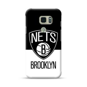 Brooklyn Nets Logo Black White Samsung Galaxy S7 Active Case