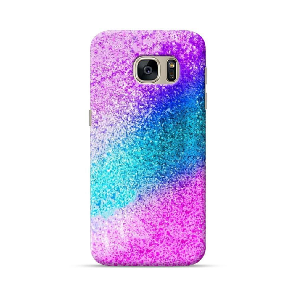 the best attitude 65405 82ffe Rainbow Glitter Samsung Galaxy S7 Case