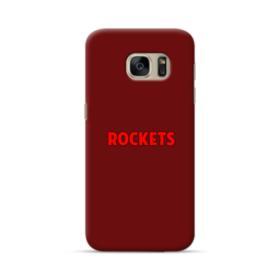 Rockets Logo Red Samsung Galaxy S7 Case
