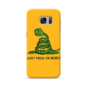 Pepe the frog don't tread on memes Samsung Galaxy S7 Case