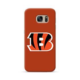 Cincinnati Bengals Team Logo Brown Samsung Galaxy S7 Case