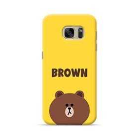 Line Friends Brown Samsung Galaxy S7 Case