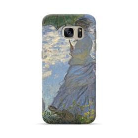 Woman with a Parasol Samsung Galaxy S7 Case
