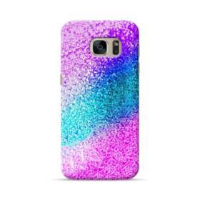 Rainbow Glitter Samsung Galaxy S7 Case