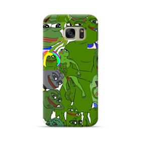 Rare pepe the frog seamless Samsung Galaxy S7 Case