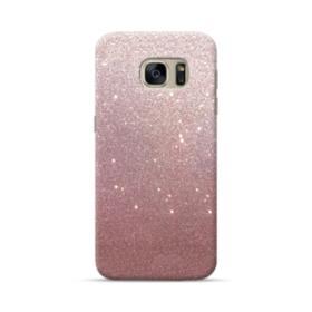 Rose Gold Glitter Samsung Galaxy S7 Case