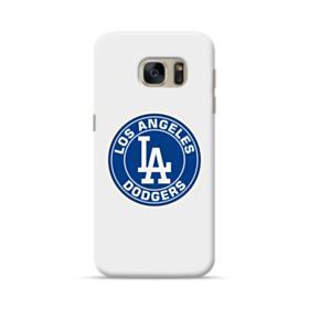 Los Angeles Dodgers Team Logo Round Samsung Galaxy S7 Case