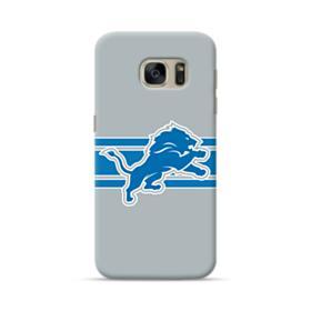 Detroit Lions Gray Stroke Samsung Galaxy S7 Case