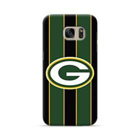 Green Bay Packers Vertical Stripes Samsung Galaxy S7 Case