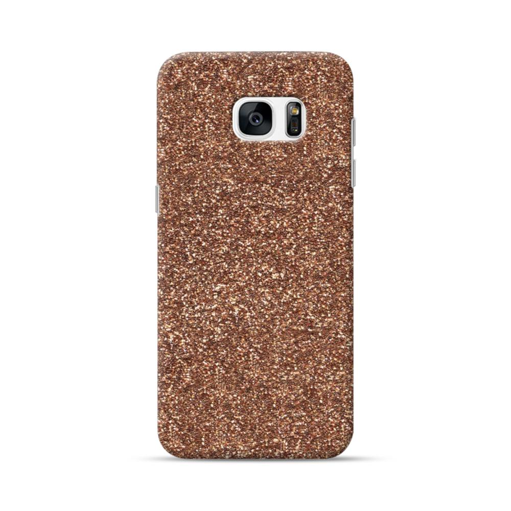 new style 73dc0 bed92 Gold Glitter Samsung Galaxy S7 edge Case | CaseFormula