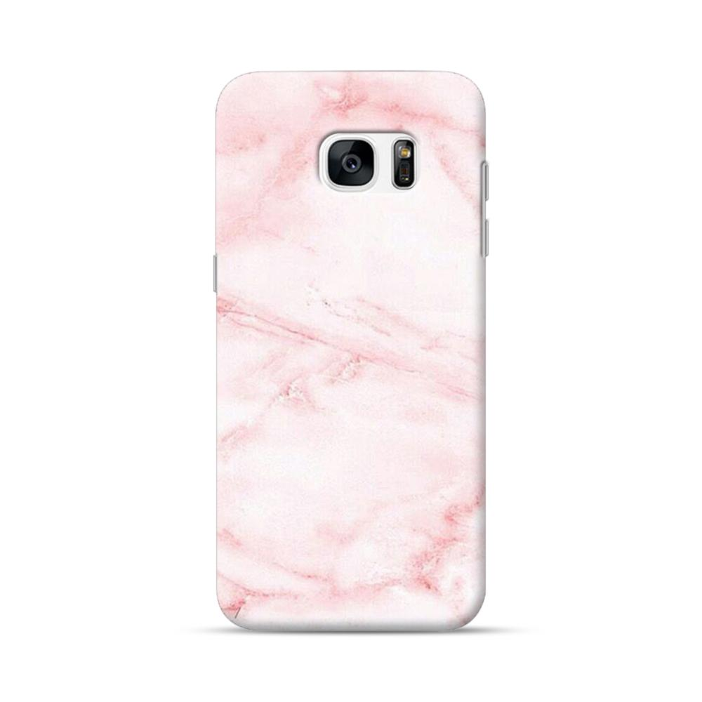 detailed look 308dc dd51e Pink Marble Samsung Galaxy S7 edge Case