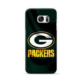 Green Bay Packers Logo Fabric Mesh Samsung Galaxy S7 edge Case