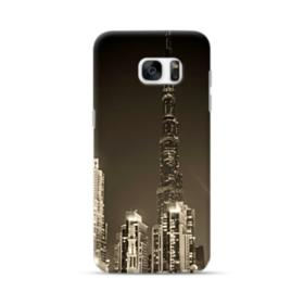 City night skyline Samsung Galaxy S7 edge Case