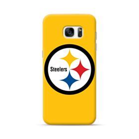 Pittsburgh Steelers Team Logo Round Samsung Galaxy S7 edge Case