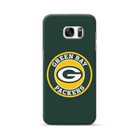 Green Bay Packers Team Logo Round Samsung Galaxy S7 edge Case