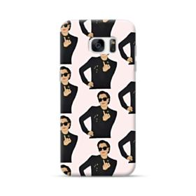 Kris Jenner middle finger meme Samsung Galaxy S7 edge Case