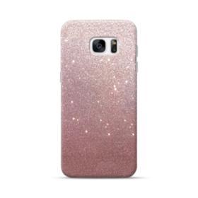Rose Gold Glitter Samsung Galaxy S7 edge Case
